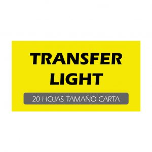Transfer Light (Pack de 20 hojas)